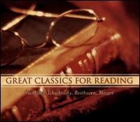 Great Classics for Reading - Angela Cheng (piano); Festival of the Sound Ensemble; Jane Coop (piano); Michael Dussalt (piano); Moshe Hammer (violin); Shauna Rolston (cello); Tsuyoshi Tsutsumi (cello); Valerie Tryon (piano); William Tritt (piano)