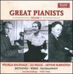 Great Pianists, Vol. 1