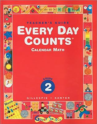 Great Source Every Day Counts: Teacher's Guide Grade 2 2005 - Great Source (Prepared for publication by)