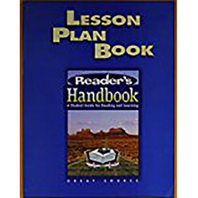Great Source Reader's Handbooks: Lesson Plan Handbook Grade 10 2003 - Klemp, Ron, and Schwartz, Wendell, and Burke, Jim