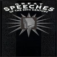 Great Speeches of the 20th Century [Box Set] - Various Artists