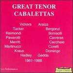 Great Tenor Cabalettas