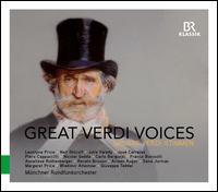 Great Verdi Voices - Anneliese Rothenberger (vocals); Arleen Augér (vocals); Carlo Bergonzi (vocals); Franco Bonisolli (vocals);...