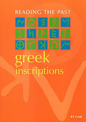 Greek Inscriptions - Cook, B.F.