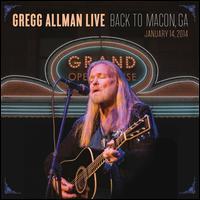 Gregg Allman Live: Back to Macon, GA [LP] - Gregg Allman
