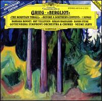 Grieg: Bergliot - Barbara Bonney (soprano); Håkan Hagegård (baritone); Randi Stene (mezzo-soprano); Rut Tellefsen; Gothenburg Symphony Orchestra; Neeme Järvi (conductor)