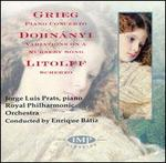 Grieg: Piano Concerto; Dohnányi: Variations on a Nursery Song; Litolff: Scherzo