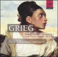 Grieg: Piano Concerto; Sonata; Lyric Pieces Opp. 43, 54 & 65 - Leif Ove Andsnes (piano); Bergen Philharmonic Orchestra; Dmitri Kitayenko (conductor)