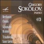 Grigory Sokolov Plays Beethoven, Chopin, Schumann, Brahms, Tchaikovsky, Saint-Saëns