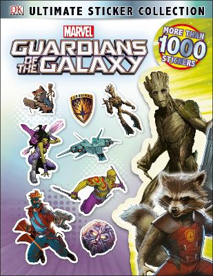 Guardians of the Galaxy Ultimate Sticker Collection - DK