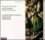 Guerrero: Sacrae cantiones