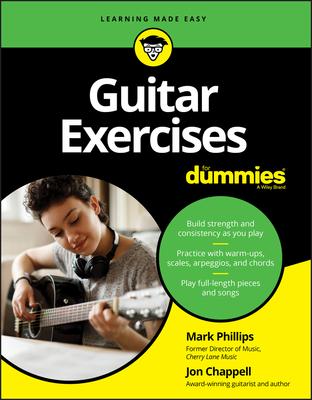 Guitar Exercises for Dummies - Phillips, Mark, and Chappell, Jon