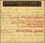 Guitar Masterpieces - Alirio Diaz (guitar); I Solisti di Zagreb; Antonio Janigro (conductor)