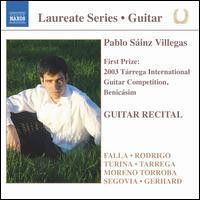 Guitar Recital - Pablo Sáinz Villegas (guitar)