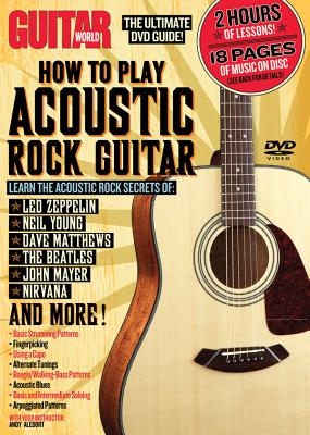 Guitar World -- How to Play Acoustic Rock Guitar: The Ultimate DVD Guide!, DVD - Aledort, Andy