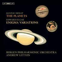Gustav Holst: The Planets; Edward Elgar: Enigma Variations - Bergen Philharmonic Choir (choir, chorus); Edvard Grieg Kor (choir, chorus); Bergen Philharmonic Orchestra;...