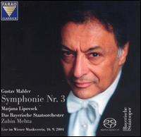 Gustav Mahler: Symphonie Nr. 3 - Marjana Lipovsek (alto); Markus Wolf (violin); Vienna Boys' Choir (choir, chorus);...