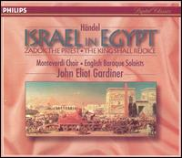Händel: Israel in Egypt - Andrew Tusa (tenor); Ashley Stafford (alto); Christopher Purves (bass); Donna Deam (soprano); Elisabeth Priday (soprano);...
