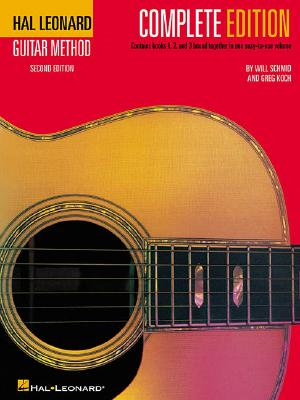 Hal Leonard Guitar Method, - Complete Edition: Book Only - Schmid, Will, and Koch, Greg