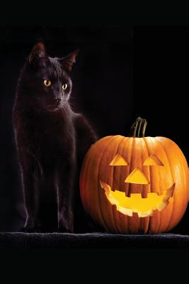 Halloween Black Cat Journal: 150 Page Ruled Journal/Diary: Log Your Dreams, Musings and Fantasies - Journeys, Mystic