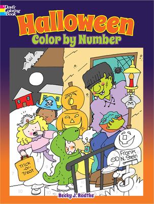 Halloween Color by Number - Radtke, Becky J