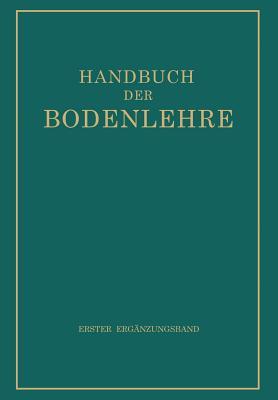 Handbuch Der Bodenlehre - Blanck, E