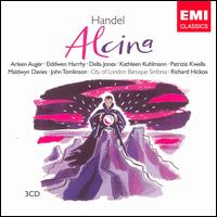 Handel: Alcina - Arleen Augér (vocals); Della Jones (vocals); Dorothy Linell (lute); Eiddwen Harrhy (vocals); Ian Watson (harpsichord);...