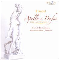 Handel: Apollo e Dafne; The Alchymist - Michael Borgstede (harpsichord); Musica ad Rhenum; Nicola Wemyss (mezzo-soprano); Tom Sol (bass); Jed Wentz (conductor)