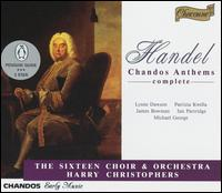 Handel: Chandos Anthems - David Woodcock (violin); Ian Partridge (tenor); James Bowman (alto); Julie Miller (violin); Lynne Dawson (soprano);...