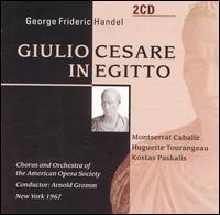 Handel: Giulio Cesare in Egitto - Huguette Tourangeau (mezzo-soprano); Kostas Paskalis (baritone); Montserrat Caball� (soprano); Simon Estes (vocals);...