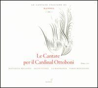 Handel: Le Cantate per il Cardinal Ottoboni - Fabio Bonizzoni (harpsichord); La Risonanza; Raffaella Milanesi (soprano); Salvo Vitale (bass); Fabio Bonizzoni (conductor)