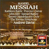 Handel: Messiah - Florence Quivar (mezzo-soprano); John Aler (tenor); Kathleen Battle (soprano); Larry Weeks (trumpet);...
