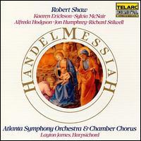 Handel: Messiah - Alfreda Hodgson (mezzo-soprano); Jon Humphrey (tenor); Kaaren Erickson (soprano); Layton James (harpsichord);...