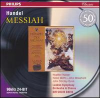 Handel: Messiah - Heather Harper (soprano); Helen Watts (alto); John Shirley-Quirk (bass); John Wakefield (tenor);...