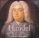 Handel: The Chamber Music, Vol. 6 - The Recorder Sonatas