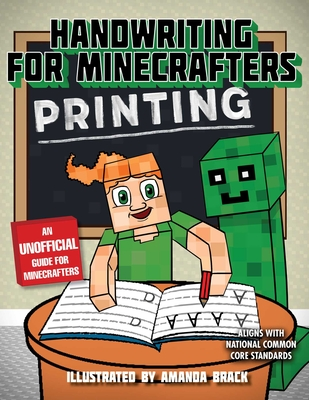 Handwriting for Minecrafters: Printing - Sky Pony Press