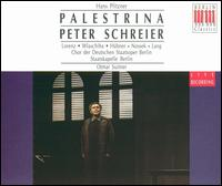 Hans Pfitzer: Palestrina - Carola Nossek (soprano); Ekkehard Wlaschiha (bass); Fritz Hubner (bass); Gerd Wolf (bass); Günther Leib (baritone);...