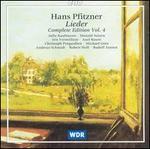 Hans Pfitzner: Complete Edition, Vol.4 (Lieder)