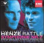 Hans Werner Henze: Barcarola per grande orchetra; Symphony No. 7