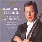 Hansgeorg Schmeiser plays music for Solo Flute