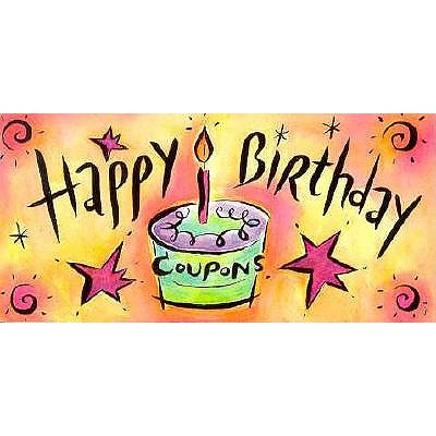 happy birthday coupons book by sourcebooks inc 1 available