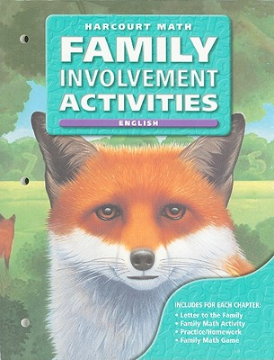 Harcourt Math Family Involvement Activities: Grade 5 - Harcourt School Publishers (Creator)