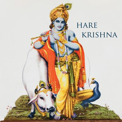 Hare Krishna: 150-Page Blank Writing Diary with Hindu Deity Krishna 8.5 X 8.5 Square (Grey) (Symbology Series of Writing Journals) (Volume 2) - The Mindful Word