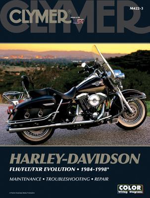 Harley-Davidson Flh/Flt/Fxr Evolution 1984-1998 - Penton