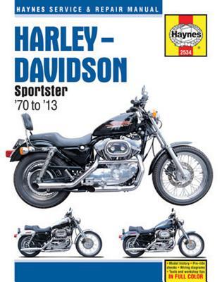 Harley Davidson Sportster Motorcycle Repair Manual - Haynes, John