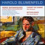 Harold Blumenfeld: Vers Sataniques; Carnet de Damné; Mythologies