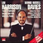 Harrison: Third Symphony; Grand Duo for Violin & Piano