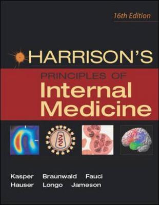 Harrison's Principles of Internal Medicine Set - Kasper, Dennis L, M.D., and Braunwald, Eugene, M.D., and Fauci, Anthony S, M.D.