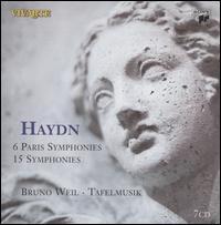 Haydn: 6 Paris Symphonies; 15 Symphonies - Ab Koster (natural horn); Tafelmusik Baroque Orchestra; Bruno Weil (conductor)
