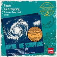 Haydn: Die Schöpfung - Elisabeth Grümmer (soprano); Gottlob Frick (bass); Josef Traxel (tenor); Wolfgang Meyer (harpsichord);...